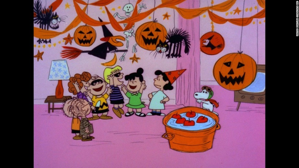 "Lucy, far right, is a killjoy who always dampens the mood of sad sack Charlie Brown in the ""Peanuts"" cartoons."