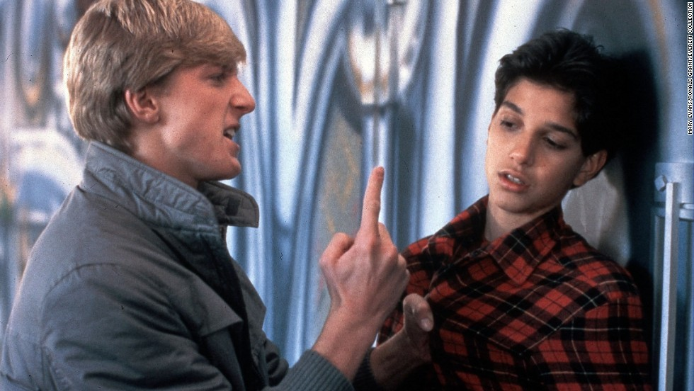 "<strong>""The Karate Kid"" (1984), ""The Karate Kid II"" (1986),</strong> <strong>and ""The Karate Kid III"" (1989)</strong> - William Zabka and Ralph Macchio butt heads in the teen drama ""The Karate Kid"" that has become a cult classic and yielded spin-offs. (Netflix)"