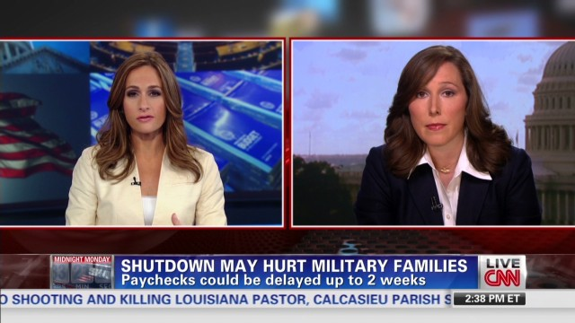Shutdown may hurt military families