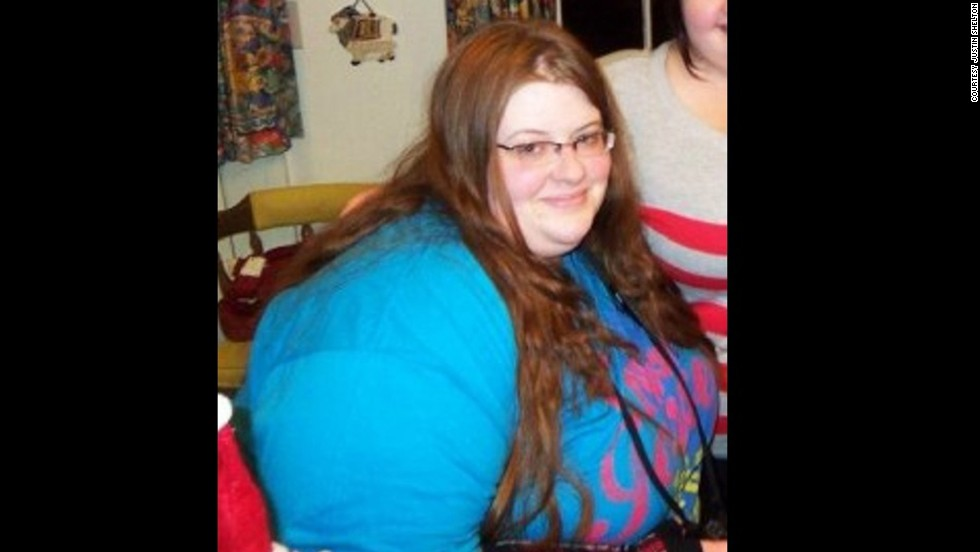 "The weight started piling on for Lauren in high school. ""I was an emotional eater and went to the comfort of food,"" she says. At her heaviest, she weighed 341 pounds."