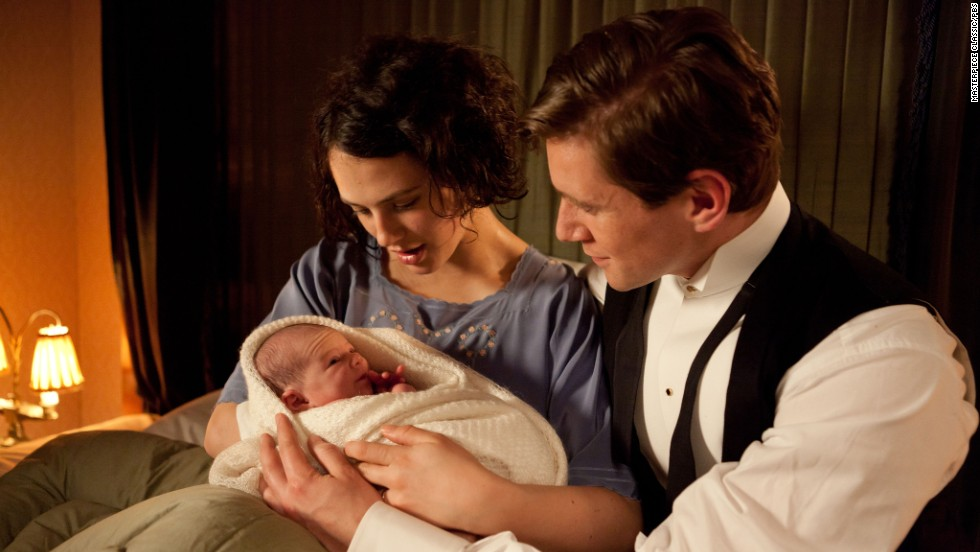 "The birth of her daughter should have been a joyous time for Lady Sybil Branson (Jessica Brown Findlay) and her husband, Tom (Allen Leech), on ""Downton Abbey,"" but fans were shocked when tragedy struck."