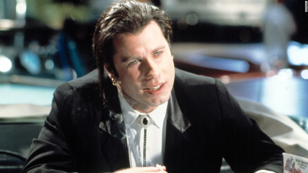 "The revival of John Travolta's career via playing hit man Vincent Vega in the 1994 film ""Pulp Fiction"" was almost as surprising as the way<a href=""http://www.youtube.com/watch?v=qzPZOh2IfEc"" target=""_blank""> his character gets taken out</a> in that film. Toaster pastries, anyone?"