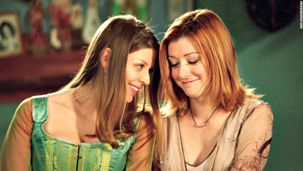 "Tara Maclay (Amber Benson) and Willow Rosenberg (Alyson Hannigan) were a happy couple on ""Buffy the Vampire Slayer"" until a bullet felled Tara, which led to much outrage from fans. (<a href=""http://www.cnn.com/2013/09/06/showbiz/fan-backlash-dancing-fifty-batman/index.html?iref=allsearch"">But what else is new?</a>)"