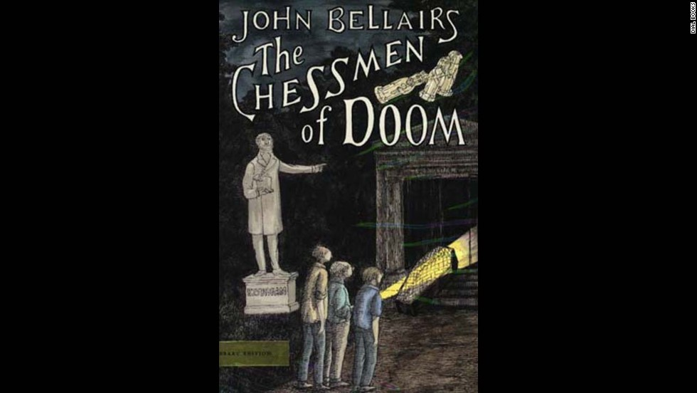 "American author John Bellairs was best known for his Gothic mystery novels featuring young protagonists Lewis Barnavelt, Anthony Monday and Johnny Dixon. Many of them, including ""The Chessman of Doom,"" were accompanied by creepy cover art and  illustrations by artist Edward Gorey."