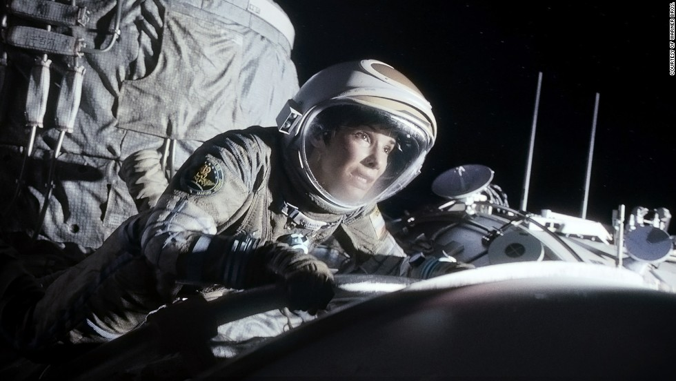 "<strong>Best actress nominees:</strong> Sandra Bullock in ""Gravity"" (pictured), Amy Adams in ""American Hustle,"" Cate Blanchett in ""Blue Jasmine,"" Judi Dench in ""Philomena"" and Meryl Streep in ""August: Osage County"""