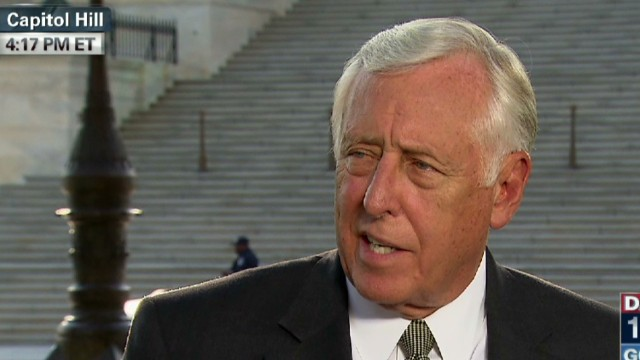 Rep. Hoyer: GOP refusing pay is a game