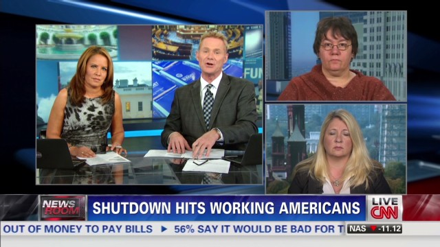 Shutdown hits working Americans