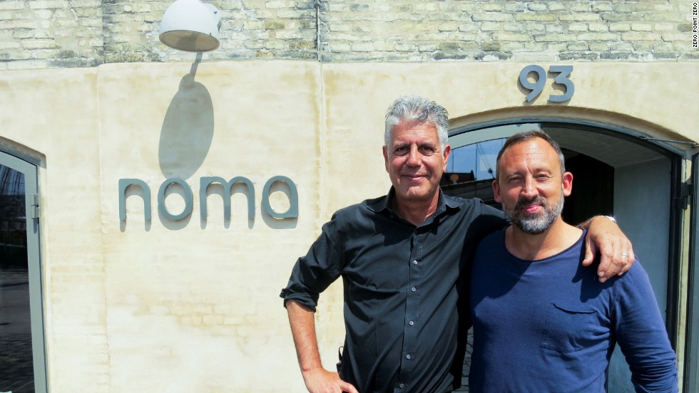 Back in Copenhagen, Bourdain dines at Noma with Alessandro Porcelli, the founder and director of Cook it Raw, an annual gathering of the world's most progressive chefs.