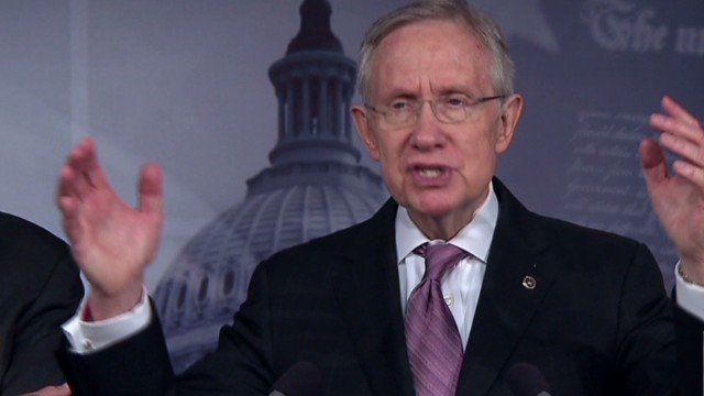 Sen. Reid: I will not pick and choose