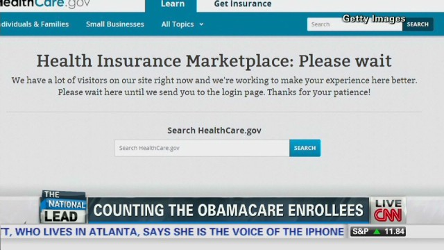 exp Lead vo how many people enrolled in Obamacare _00002001.jpg