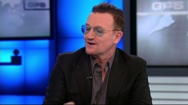 On GPS, Bono on U.S. fight against HIV