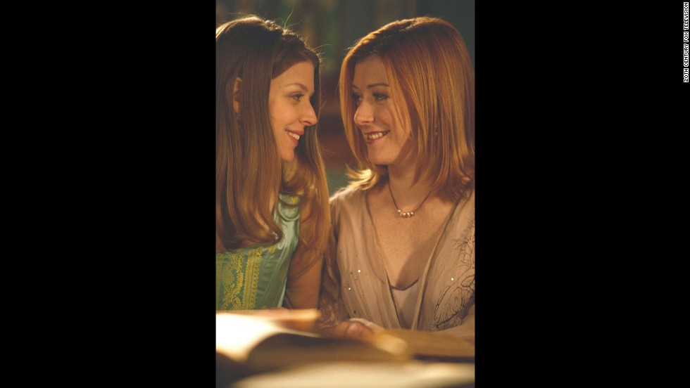 "Even with her tendencies to stray to the dark side, the resident witch on ""Buffy the Vampire Slayer,"" Willow Rosenberg, right, played by Alyson Hannigan, was one of the craftiest (and smartest) on TV. Her teaming up with the magically gifted Tara (Amber Benson) was a natural upgrade."