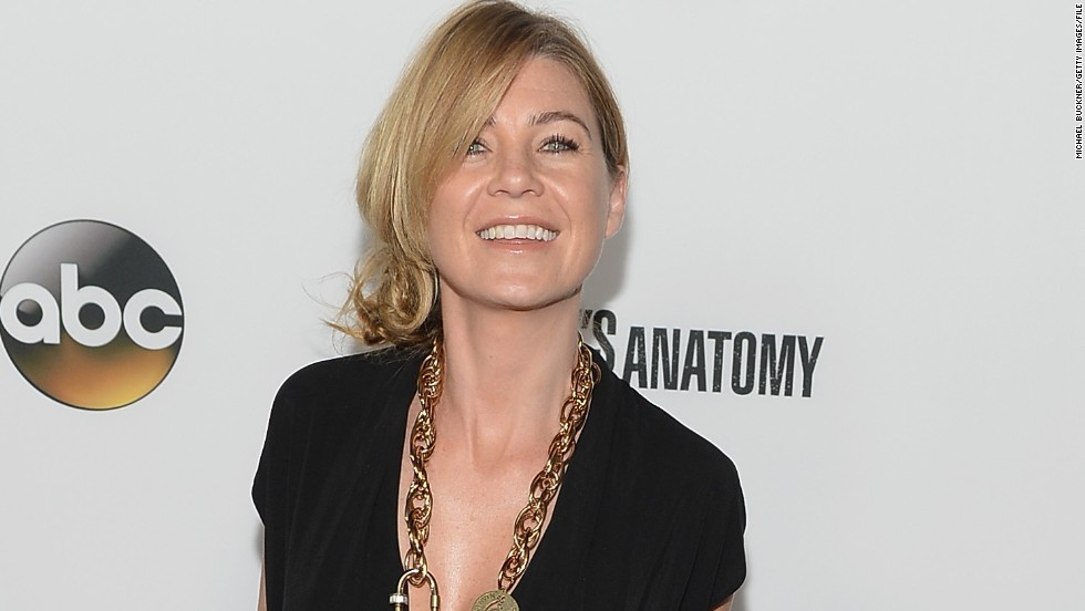 "Ellen Pompeo's long run on ""Grey's Anatomy"" has kept her on Forbes' list. The actress made $10 million in 2014."