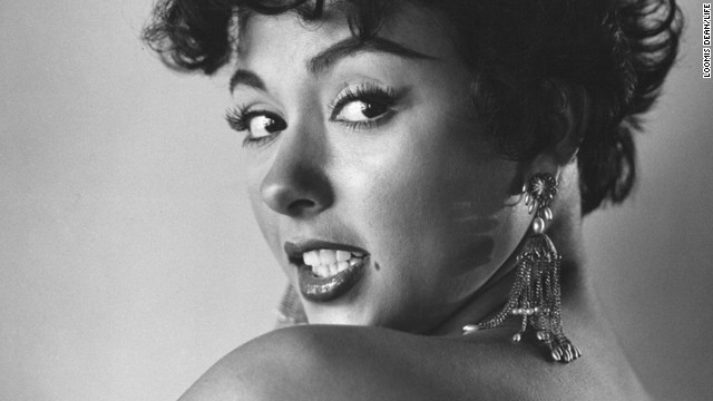 Rita Moreno poses for a photo used on the March 1, 1954, cover of Life magazine.