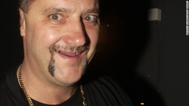 "Ex-criminal Mark ""Chopper"" Read pictured at the Enmore Theatre in Sydney, Australia back in 2001."