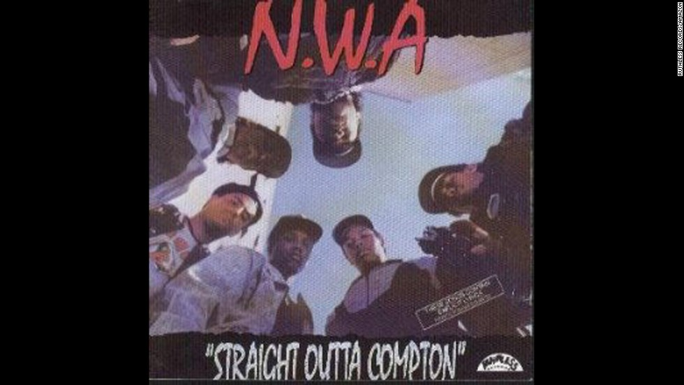 "NWA's 1988 debut studio album ""Straight Outta Compton"" included the tune ""<a href=""http://www.youtube.com/watch?v=Z7-TTWgiYL4"" target=""_blank"">F*** Da Police""</a> which as you can imagine did not go over well with the law enforcement community."