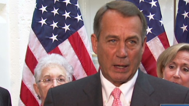 Boehner: No one gets all they want