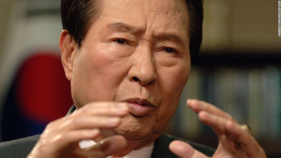 Former South Korean President Kim Dae-jung won the Nobel Peace Prize in 2000.