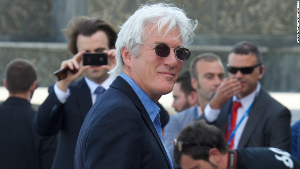 "When then-64-year-old Richard Gere opened a boutique hotel in 2012, he told CNN he had a very clear understanding of what he wanted the design to convey. ""Sex -- every choice in here was about sex,"" <a href=""http://www.cnn.com/2012/04/17/showbiz/richard-gere-hotel-bedford-post/index.html"" target=""_blank"">People's former Sexiest Man Alive said. </a>And yet, <a href=""http://www.cnn.com/2012/12/25/showbiz/celebrity-news-gossip/richard-gere-oscars/index.html?c=showbiz&page=0"" target=""_blank"">the guy doesn't believe that he has ""a certain impact"" on the opposite sex. </a>He is now 66."