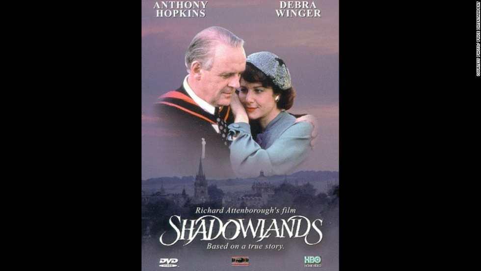 "Anthony Hopkins as C.S. Lewis in ""Shadowlands"""