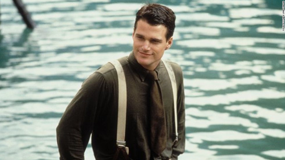 "Chris O'Donnell as Ernest ""Ernie"" Hemingway in ""In Love and War"""