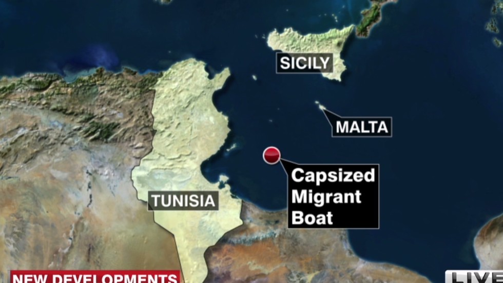 Official: 31 dead, 200 rescued after ship capsizes near Lampedusa