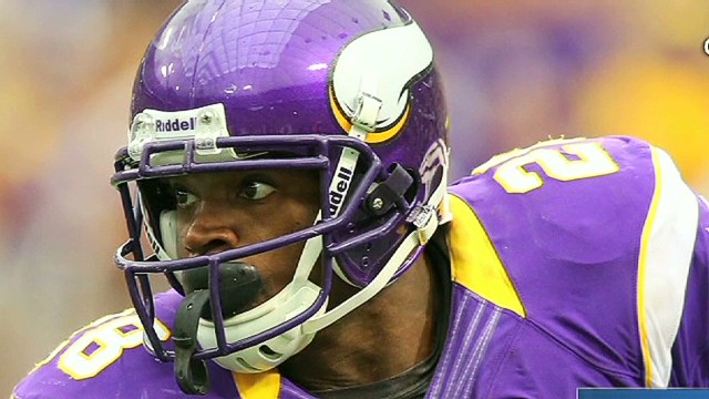 Adrian Peterson plays after tragic loss