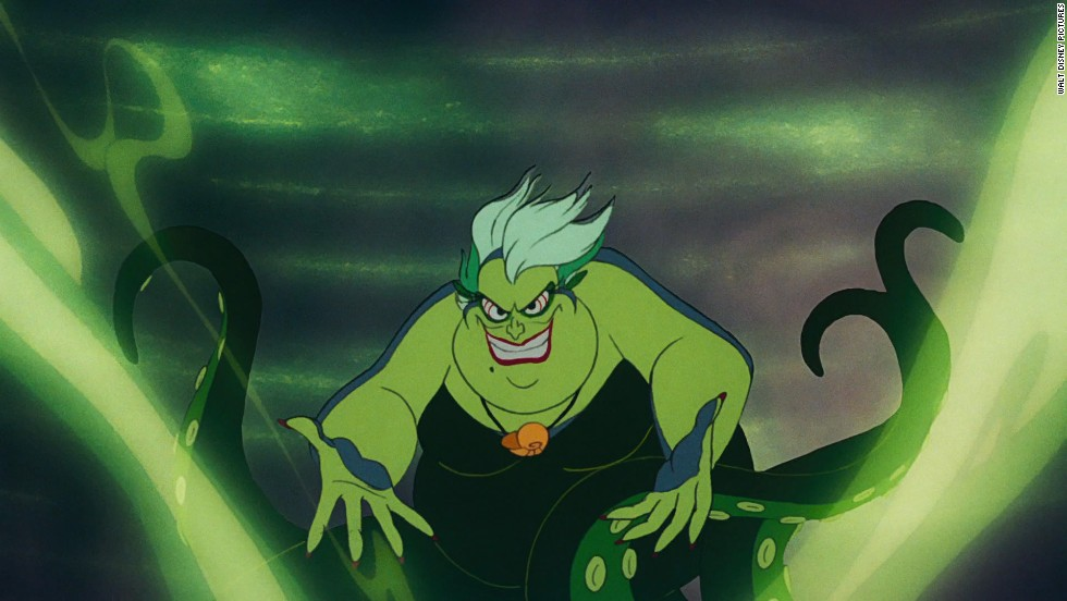 "Ursula is one or the most iconic of all the Disney villains. In the 1989 film ""The Little Mermaid,"" the sea witch is able to trick Ariel into giving up her voice for human legs so she can be with her love, Prince Eric."