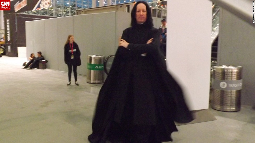 "It just wouldn't be a convention without an appearance from ""Harry Potter's"" <a href=""http://ireport.cnn.com/docs/DOC-1047657"">Severus Snape.</a>"