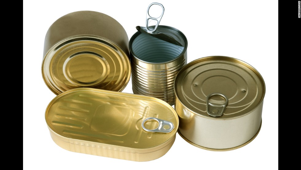 Canned Food And Bpa