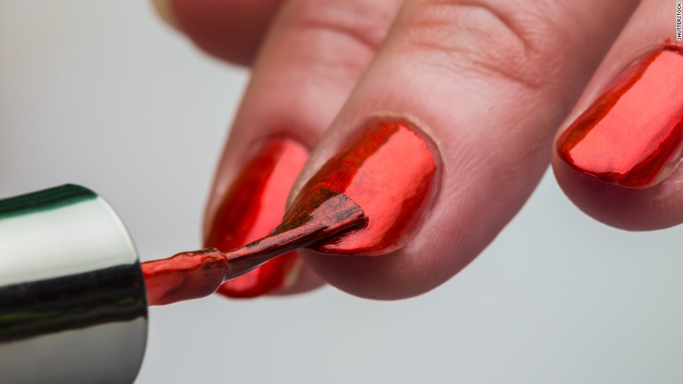 "<strong>Nail polish:</strong> Phthalates are used to make plastics more flexible, <a href=""http://www.fda.gov/Cosmetics/ProductandIngredientSafety/SelectedCosmeticIngredients/ucm128250.htm"" target=""_blank"">according to the FDA</a>, and are often found in cosmetics. For instance, phthalates help keep your nail polish from cracking. They're also found in shampoos and lotions."