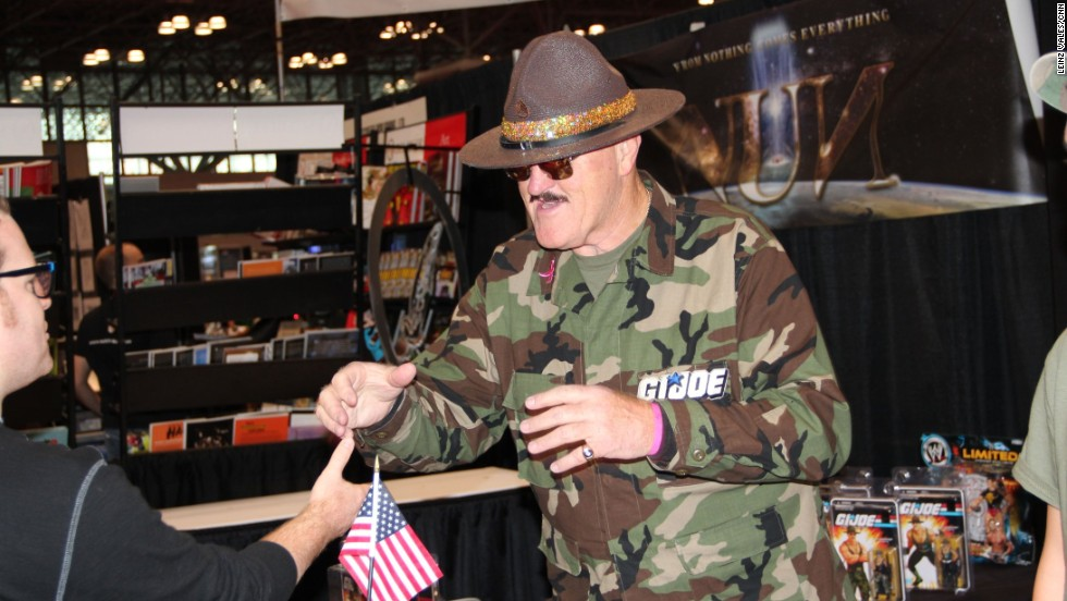Sgt. Slaughter wants you to get down and give him 20.