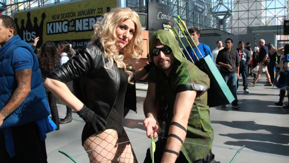 DC's Green Arrow left Star City for New York City's Comic Con.