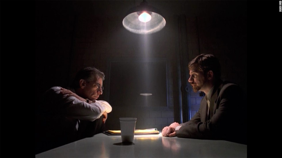 "Belzer, left, as Munch investigates a crime in ""Homicide's"" hometown of Baltimore in a 1997 episode of ""The X-Files"" called ""Unusual Suspects,"" which ""Breaking Bad's"" Vince Gilligan wrote."
