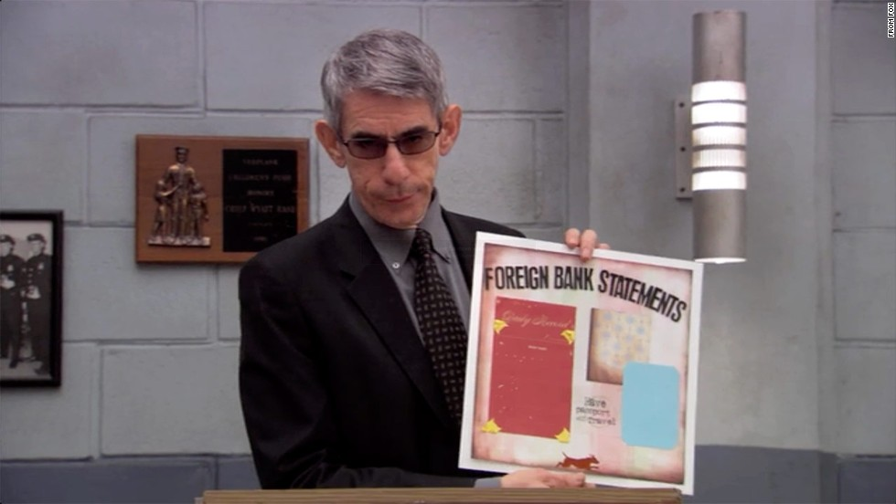 """Arrested Development"" gets a visit from Munch in 2006 on an episode called ""Exit Strategy."" This time, he played<em> Professor</em> Munch, who taught a scrapbooking class as a cover to get information out of Tobias (David Cross)."