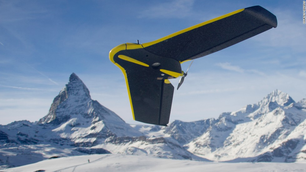 "Mapping the treacherous terrain of one of the Alps' most deadly peaks just got a lot easier, with a fleet of <a href=""http://www.sensefly.com/drones/ebee.html"" target=""_blank"">eBee</a> mini-drones providing a 300 million point 3D map in less than six hours of flight time. Inventors <a href=""http://www.sensefly.com/"" target=""_blank"">SenseFly</a> launched the foldable backpack-mounted drones from the summit and midway down the mountain to <a href=""http://www.youtube.com/watch?feature=player_embedded&v=NuZUSe87miY"" target=""_blank"">knit together 2800 images into a crisp model</a>, despite blustering winds and formidable climbing conditions."
