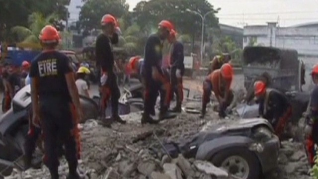 Earthquake kills dozens in Philippines