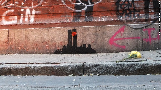 Banksy angers New Yorkers
