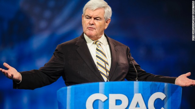 Gingrich encourages positivity