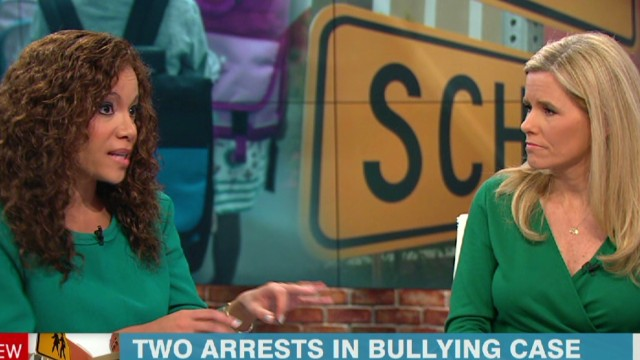 Two arrests in bullying case
