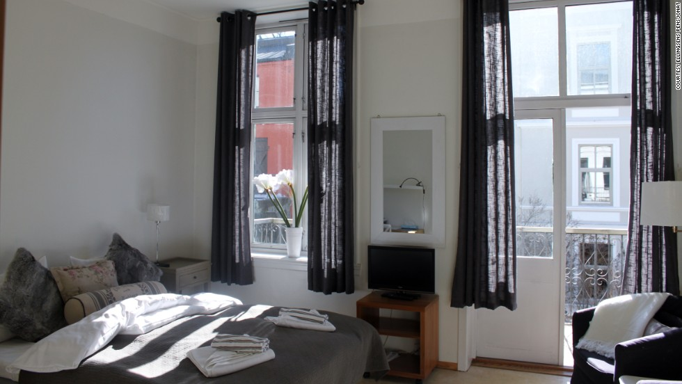 Ellingsens Pensjonat in Oslo, Norway, offers comfortable accommodations a short tram ride away from the city center.