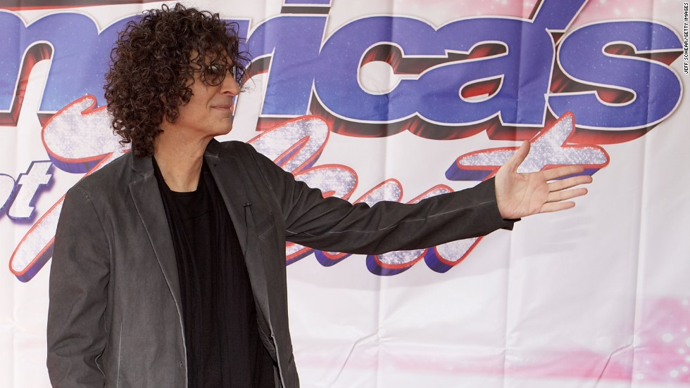 """America's Got Talent"" judge and radio star Howard Stern. Along with Cowell, 59-year-old Stern is No. 1 on <a href=""http://www.forbes.com/sites/dorothypomerantz/2013/08/08/simon-cowell-and-howard-stern-top-our-list-of-highest-paid-tv-personalities/"" target=""_blank"">Forbes' list of top-earning TV personalities for 2013. </a>"