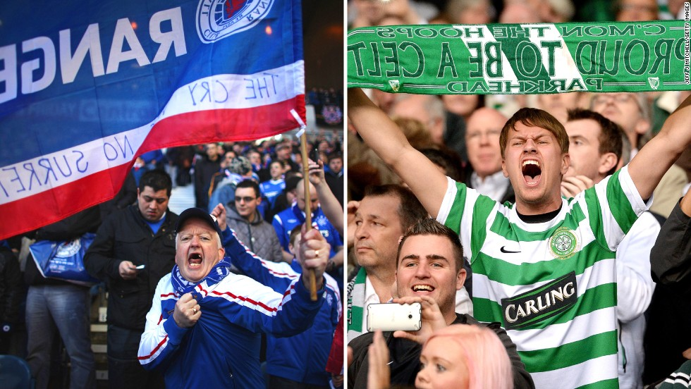 Glasgow's notorious Old Firm derby between Celtic and Rangers dates to 1888, fueled by generations of enough sectarian animosity and occasional bloodshed to recently usher in campaigns promoting some semblance of basic decency. The fact the teams no longer play in the same division doesn't seem to deter the fans from their partisan-ship.