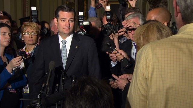 Cruz: A  'remarkable thing' happened