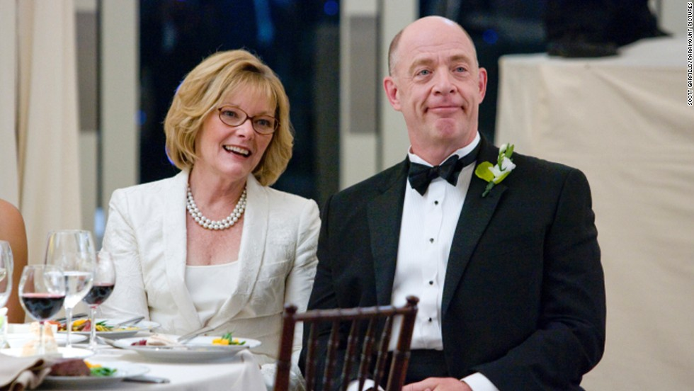 "J.K. Simmons, seen here with Jane Curtin in the film ""I Love You, Man,"" has played all sorts of roles, including a white supremacist on ""Oz"" and a therapist on ""Law & Order."" Will he stay a character actor <a href=""http://www.cnn.com/videos/entertainment/2015/02/23/raw-oscars-j-k-simmons-backstage-youtube.cnn"">now that he has an Oscar for ""Whiplash""</a>?"
