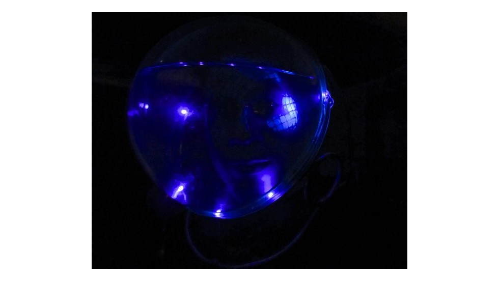 "<a href=""http://www.instructables.com/id/Aliens-from-an-underwater-plannet/"" target=""_blank"">This costume</a> requires some imagination, water, lighting and bubbles. It's a space costume meant for visiting aliens from a water-based planet. They need it to move around Earth and still breathe as well as look cool at parties."