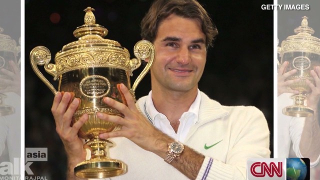 Roger Federer on Asia's tennis craze