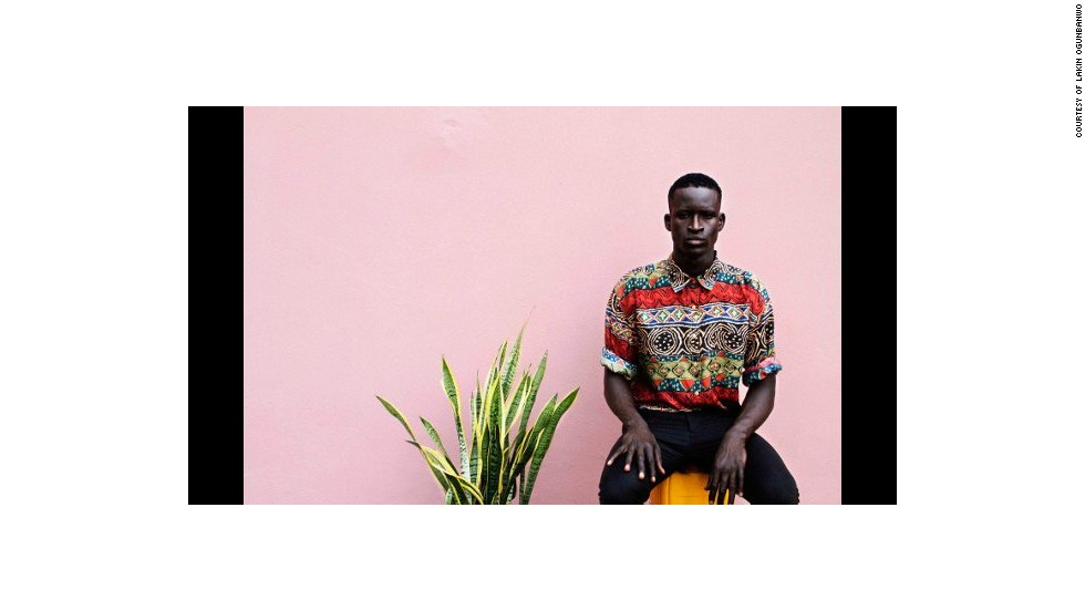 Lakin Ogunbanwo is known for his images of fashion culture in Nigeria.