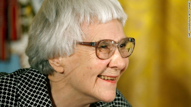 Author Harper Lee, seen here at the 2007 Presidential Medal of Freedom ceremony.
