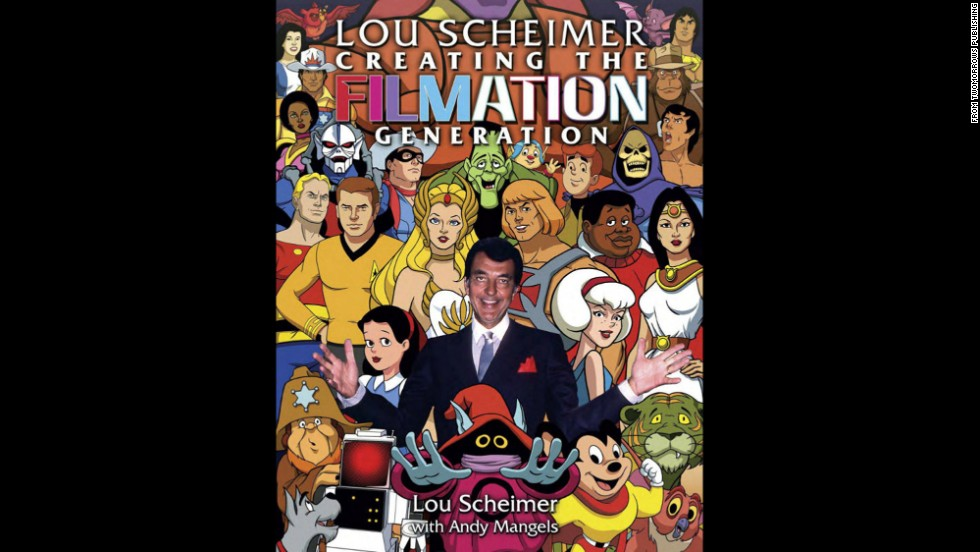 "<a href=""http://www.cnn.com/2013/10/19/showbiz/cartoons-lou-scheimer-dies/index.html"">Lou Scheimer</a>, a pioneer in Saturday morning television cartoons with hit shows such as ""Superman,"" ""Fat Albert"" and ""He-Man,"" died October 17 at 84, according to his biographer. Andy Mangels helped tell Scheimer's story in the book ""Lou Scheimer: Creating the Filmation Generation."""